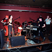 Ascetic & Refugees of the Groove at Piekarnia, Warsaw, on November 4, 2000. Photo • Tadeusz Pękacz Sr.