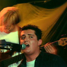 Ascetic & Refugees of the Groove at Paragraf 51, Warsaw, on October 13, 2002. Photo • Tadeusz Pękacz Sr.